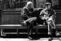 On a bench / by Koeno Jansen
