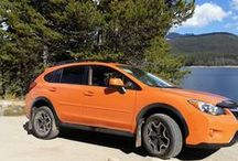 Subaru XV Crosstrek / The Subaru XV Crosstrek ... the most fuel-efficient AWD crossover in America.
