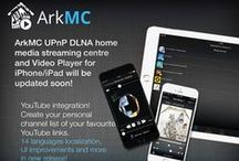 ArkMC / Arkuda Media Center is an UPnP multimedia software application for iOS (iPhone, iPad, iPod Touch) and Android (all smart phones and tablet PCs) devices that allows to easily access, stream, share, manage and enjoy personal multimedia content such as pictures, music and videos throughout their home Wi-Fi network. http://arkmc.com/
