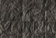 Crumbled wallpaper by Koziel / A finely textured wallpaper that you will want to touch. The stunning 3 dimensional effect add volume to your wall.