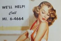 ♦1940's Pin-up Girls♦ / Pinup girls and artists from the 1940's & 50's.