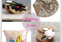 Wedding Season / At this time of year the wedding season is in full swing and, whether you are the bride or a guest, there are so many preparations to consider.  Here at Luku Home we have plenty of unique ideas for wonderful gifts and decorations.