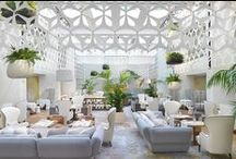 Designer Hotels / Our pick of Interior Designed Hotels Worldwide!  Always a great source of inspiration.