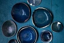 Hues of Blue / Inspiration for using the ever fashionable colour blue in your interiors.
