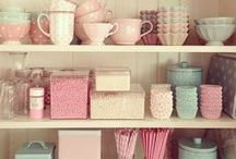 Vintage Pastels / We love Pastels and there is inspiration everywhere of how to use them.  Take a look at our picks!