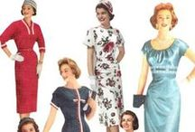 1950s Women's Fashion / Clothes, shoes, hair, makeup, accessories