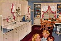 1940s Kitchen & Dining