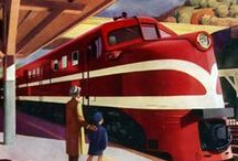 Railroad Travel (1940s-1970s)