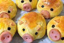 Mad - børnefødselsdage / Forslag til børnevenlig og kreativ mad