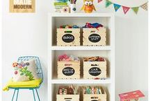 Organization Ideas / Circu knows how difficult it is for parents to organize and keep their kids rooms in order, so we are here to help!