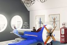 Trendy Bedroom for Boys / For a child, a bedroom is more than just a place to sleep. It's their own world, full of magic. Circu will help you plan and decor the perfect room for your boy!