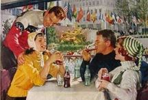 1950s Eating & Drinking Out / Cafe, Diner, Restaurant, Bar