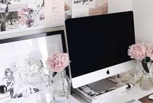 Home Office Ideas / home office, DIY, desks, command centers, office ideas