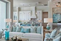 Room Ideas -  Turquoise / Bedrooms, Living Rooms, Home, Kitchen, Entryways, Furniture, Rugs, Décor, Ideas, Inspiration, DIY, Products, Turquoise, Color Palettes, Color Schemes, Dining Rooms