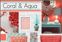 Room Ideas - Coral / Bedrooms, Living Rooms, Home, Kitchen, Entryways, Furniture, Rugs, Décor, Ideas, Inspiration, DIY, Products, Coral, Color Schemes, Color Palettes, Dining Room, Bathrooms, Accents