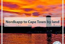 Nordkapp to Cape Town / Nordkapp, Norway to Cape Town, South Africa by land.