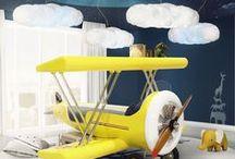 Plane Theme Room