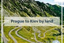 Prague to Kiev by Land / An overland journey from Prague, Czech Republic to Kiev, Ukraine.  I travel only by land through, 6 countries including Czech Republic, Austria, Hungary, Romania, Moldova and The Ukraine.