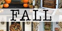 Fall Favorites / Fall, Autumn, Holiday, Pumpkins, Apples, Décor, Recipes, Food, Crafts, Accents, Snacks, Treats, Family, Ideas, Inspiration, Halloween, Thanksgiving, Interior design, Dinners, Deserts, Cookies, Bars, Pie, Dips, Appetizers, Meals, Party