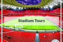 Football Stadiums around the world / Whilst traveling around the world I have visited several football stadiums.  If I'm lucky I can watch a match, if not, I can take a stadium tour.