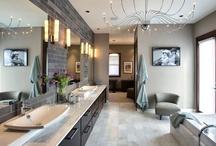 Interiors...Bathrooms / by Margaret Lennon