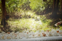 Garden fairy tea party