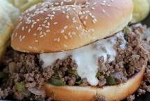 Food...Burgers & Sloppy Joes / by Margaret Lennon