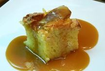 Food...Bread pudding / by Margaret Lennon