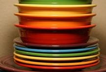 fiestaware! / by Jennifer James