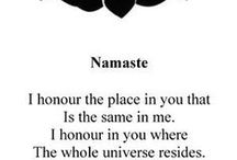 Namaste / by Mina Minetto