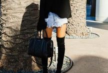 New Lengths / This winter is all about the Over The Knee Boot