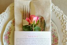 Table Settings | Tying the Knot