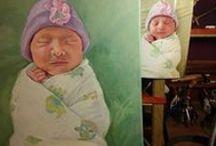 Sarah Madsen Portrait Paintings