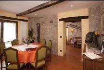 Sala da pranzo / la sala da pranzo della Locanda Marcella