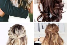 Haircuts & Styles / All the different hair cuts and styling tips I find