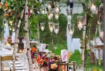 Déco : Jardin extraordinaire / Inspirations déco pour un événement sur le thème du jardin et de la nature en général / by Yellow Events