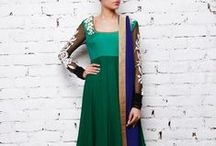 Indian Salwar Kameez, Anarkalis & more / Ranging from Punjabi suits to Mughal anarkalis and angrakhas, Indianroots.com offers an extra-ordinary variety of suits to choose from.