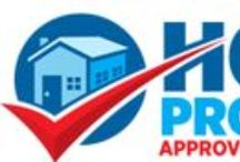 Approved Home Pros / Each Approved Home Pro must pass a rigorous screening and maintain a spotless service record with the homeowners we refer them to. Being an Approved Home Pro is an honor in the business.