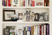 How to style bookshelves / Decoration, book shelves