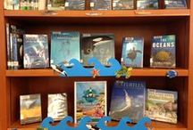 Books on Parade / Book Displays at Coquitlam Public Library