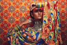 Photography: Colorful / Colorful dress and set and make up
