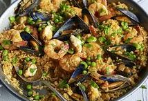 Paella Recipes / Delicious, easy paella recipes, seafood paella, chicken paella, vegetarian paella...