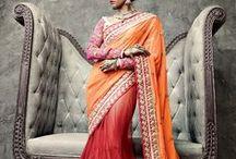 Lehenga Sarees / Lehenga Sarees - Get the best In-Vogue Ethnic Drapes at Indianroots