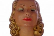 Head Sculptures / Art Deco, Bosson etc etc