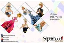 Indonesia's Supermodel All Stars / Leo Christian's Online Doll Photography Exhibition
