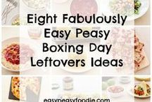Boxing Day Leftovers / How to use up leftover Christmas food! Is your fridge groaning with leftover turkey and ham? Are you wondering what to do with all those leftover cranberries? Got some leftover smoked salmon and sprouts that need turning into a meal...get tons of Boxing Day Leftovers ideas on this board!!