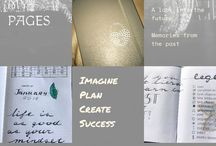 Bullet journal / Page ideas and quotes to include in my bullet journal and other useful things :)