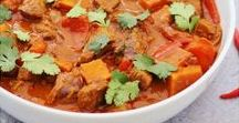 Winter Warmers / Soups, stews, casseroles, tagines, curries, pies and other warming winter recipes.