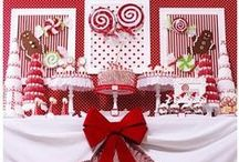 Christmas Parties / Christmas party ideas that brings cute ideas for all party planners with straws, cupcakes, and crafts!