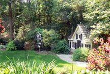 In the garden / Gardens, formal, simple, fall gardens, spring gardens